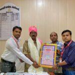 इटावा25सितम्बर*इलेक्ट्रॉनिक एवं प्रिंट मीडिया वेलफेयर एसोसिएशन द्वारा सीओ सैफई साधू राम को किया गया सम्मानित