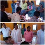 औरैया 27 अक्टूबर *दौलतपुर गांव पहुंची स्वास्थ्य टीम*